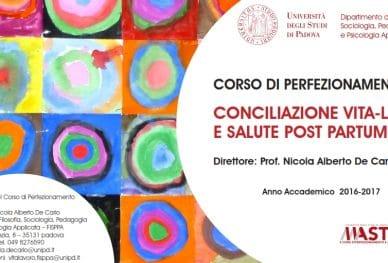 Corso di Perfezionamento in Conciliazione vita-lavoro e salute post partum